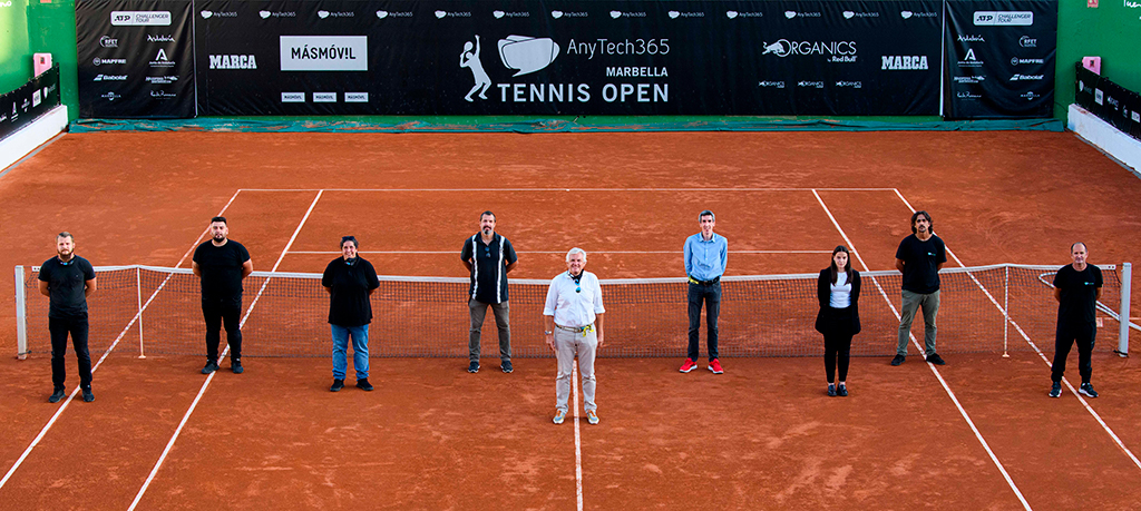 Staff AnyTech365 Marbella Tennis Open 2020