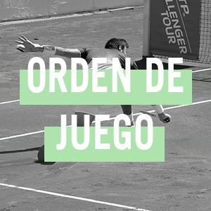 ORDEN DE JUEGO