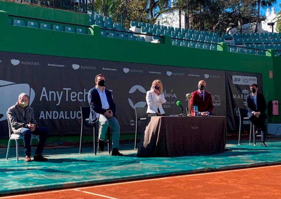Presentación AnyTech365 Andalucía Open